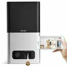 Petcube Bites Wi-Fi Pet Camera With Treat Dispenser 2-Way Audio, HD 1080p Video