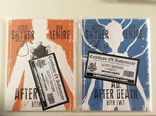 A.D. After Death Book One & Two NM+/9.8!! 1-2 Signed By Scott Snyder W/COA Image