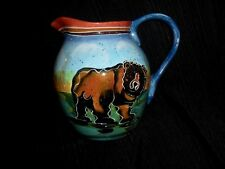 Grizzly Bear Julie Ueland Lg Serving Pitcher Northwest Collection Cabin Nature