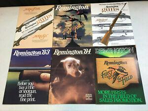vintage 1981-84 Remington Brochures & Dealer Price Lists Sporting Firearms