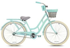 "New BCA 26"" Charleston Women's Cruiser Bike, Mint Green"