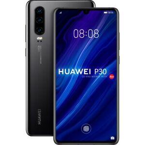 "Huawei P30 ELE-L09 4G Unlocked Smartphone Triple Camera 6.1"" 40MP 128GB"