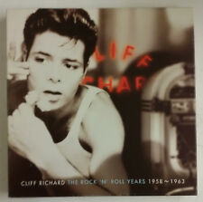 Cliff Richard The Rock N' Roll Years 1958-1963 Boîte 4-CD RU 1997 + libro 48 pg