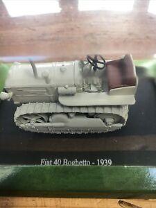 Hachette Fiat 40 Boghetto Tractor 1939 Scale 1:43