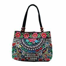 Women Handbag Embroidery Ethnic Fashion Handmade Ladies Tote Shoulder Bags