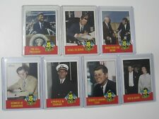 """Complete Set of 7x 2012 Topps Heritage """"THE JFK STORY"""" John F. Kennedy Cards"""