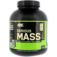 Optimum Nutrition, Serious Mass, High Protein Weight Gain Powder, Chocolate 6 lb
