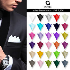 Autiga ® Einstecktuch Kavalierstuch Tuch Taschentuch Polyester Business Hochzeit