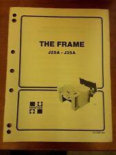 Hyster The Frame Manual J25a J35a 100 Srm 240