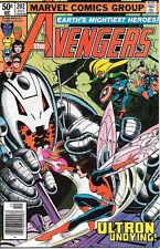 The Avengers Comic Book #202, Marvel Comics 1980 VERY FINE/NEAR MINT NEW UNREAD