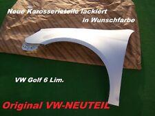 VW Golf 6 Lim. Neuer Kotflügel links/rechts LACKIERT IN WUNSCHFARBE ORIGINALTEIL
