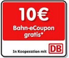 10€ Bahn eCoupon - Gutschein - Deutsche Bahn - DB - Coupon - Haribo - 18.09.2020