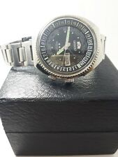 ORIENT WORLD DIVER WORLD TIME GMT MEN'S AUTOMATIC WATCH 70s Day/Date 44mm SS