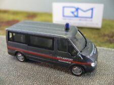 1/87 Rietze Ford Transit Feuerwehr City-Airport Mannheim 51023