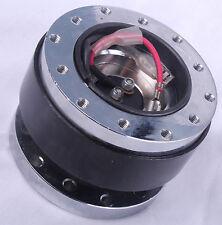 Quick Release Boss Kit Car Steering Wheel Hub Adapter JDM Black for Momo & OMP