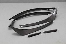 Carbon Flaps Splitter Stoßstange Lippe Canards passend für Mercedes W176 A45