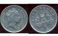 ROYAUME UNI   five   5  pence 1997  ( bis )