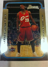 2003 - 2004 Bowman Chrome LeBron James Cleveland Cavaliers #123 Basketball Card