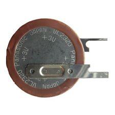 PANASONIC VL-2320 Knopfzellen Akku 3V Lötfahne Vertikal Stehend Ladbare Batterie