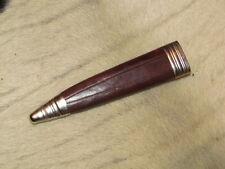 Messerscheide für Jagdnicker Messer 10 cm Klinge. Solinger Bayernmesserscheide.