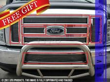 GTG 2008 - 2014 Ford E150 E250 E350 E450 7PC Custom Billet Grille Combo Kit