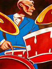 CHARLIE WATTS PRINT poster rolling stones drums greatest hits cd bridges babylon
