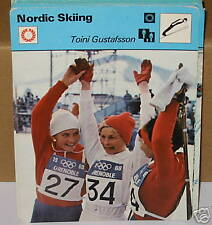 Toini Gustafsson Nordic Skiing Collector card