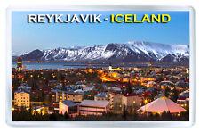 REYKJAVIK ICELAND MOD5 FRIDGE MAGNET SOUVENIR IMAN NEVERA