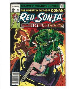 Red Sonja #9 Marvel Comics 1978 VF-