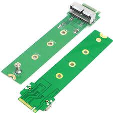 Per Apple MacBook Air Pro A1465 A1466 1502 1398 SSD NGFF M.2 M Key Adapter Caddy