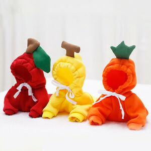 Warm Winter Costume Decorative Pet Hoodie Cute Puppy Dog Clothes French Bulldog