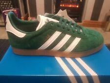 Adidas Gazelle Green Trainers Size 5.5