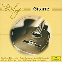 Gitarre-Best of (DG, 1952-91/2003) Albéniz, Tarrega, Rodrigo, Granados, S.. [CD]