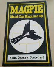 Second Division Football League Fixture Programmes (1970-1979)