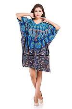 Kaftan Dress Hippy Boho Maxi Plus Size Women Mandala Caftan Top Dress Night Gown