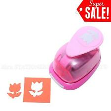 "1""inch Tulip Shape Paper Craft Punch Craft Supplies Puncher For Scrapbooking New"