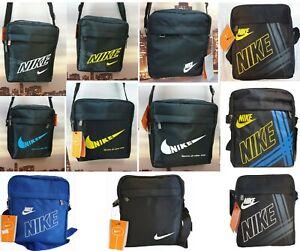 Swoosh Nike Logo Men's Cross body Messenger Shoulder Bag  handbag Free P&P in UK