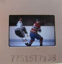 J C TREMBLAY Montreal Canadiens CLIFF KOROLL CHICAGO BLACK HAWKS SLIDE 5