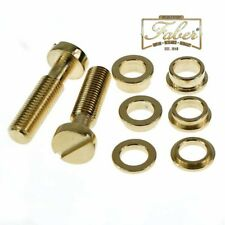 Faber Tone Lock Kit TL-M-GA TLMGA Metric fits Asian Guitars Gold-Aged 3001-3