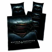 Batman Single Reversible Cotton Duvet Cover + Pillow Case Polyester Quality
