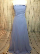 Beautiful Sky Blue Alfred Angelo Ballgown / Prom / Bridesmaid Dress Size 12