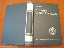 Istituto Geografico De Agostini 1971 Plutarco Il tempo di Giulio Cesare LUSSO