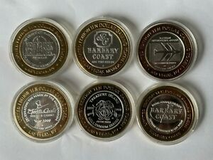 $10 Vegas Silver Strike: 2 Barbary, McCarran, Treasure Island, NYNY, Monte Carlo