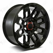 "17"" Pro Style Gloss Black Wheels Fits Toyota Tacoma  4Runner FJ Cruiser"