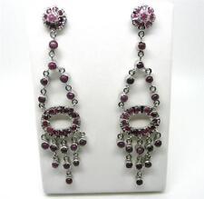 Ruby Women Asian Earrings