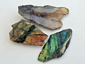 1 x Labradorite Polished Crystal Slice - 25-30mm  Mineral Specimen