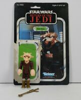 Vintage Star Wars Kenner 1983 ROTJ Ree-Yees Complete w/Original Card Back