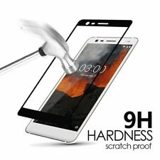 For Nokia 3.1 C 3.1 A Black Edged Screen Tempered Glass Protector Guard