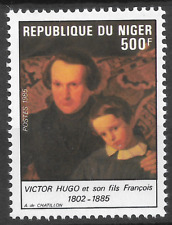 NIGER LE N°670 VICTOR HUGO 1985 NEUF ** LUXE TOP AFFAIRE !!!!!!!!!!!!!!!!!!!!!!!