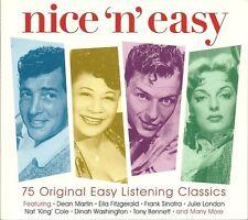 NICE 'N' EASY - 3 CD BOX SET - 75 ORIGINAL EASY LISTENING CLASSICS